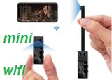 Full HD 1080p Мини Wi-Fi ip-камера двойной объектив беспроводной пульт дистанционного управления секретная камера микрокамера с регистрацией движения Espion мини DVR