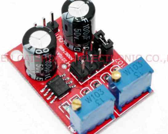 NE555 pulse frequency, signal generator,stepping motor driver