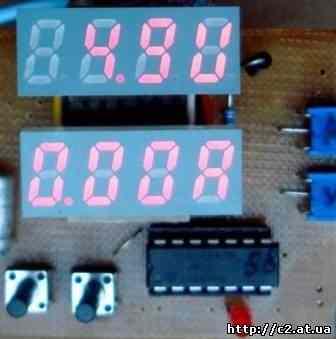 Вольтамперметр на PIC16F676 - Схемы радиолюбителей