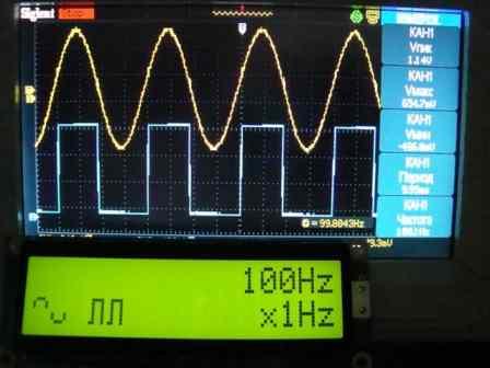 Генератор сигнала на dds схемы