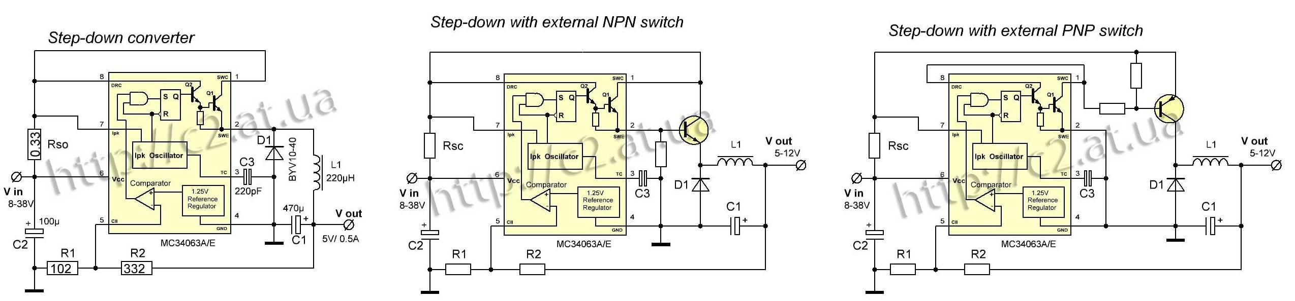 Преобразователь напряжения для зарядка телефонов схема