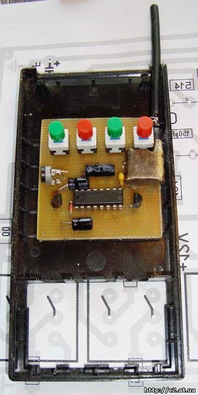 скрытой проводки сигнализатор дятел схема