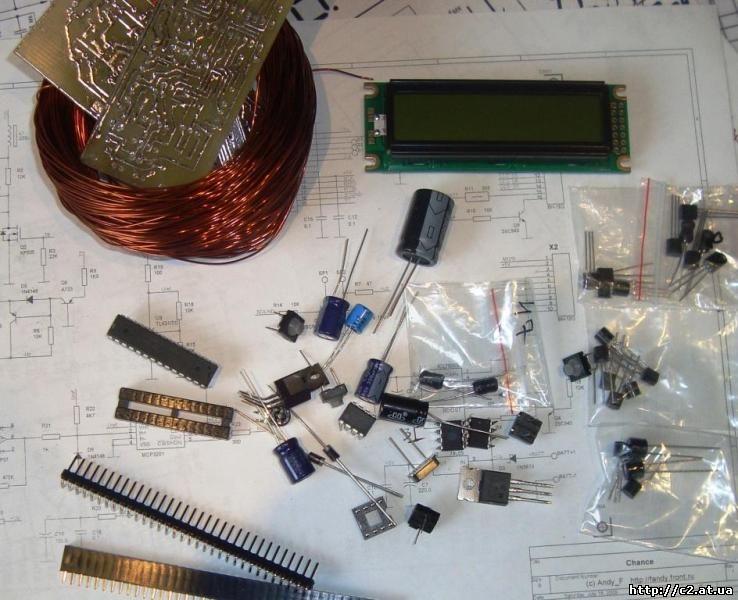 как собрать металодетектор на 5 компонентах