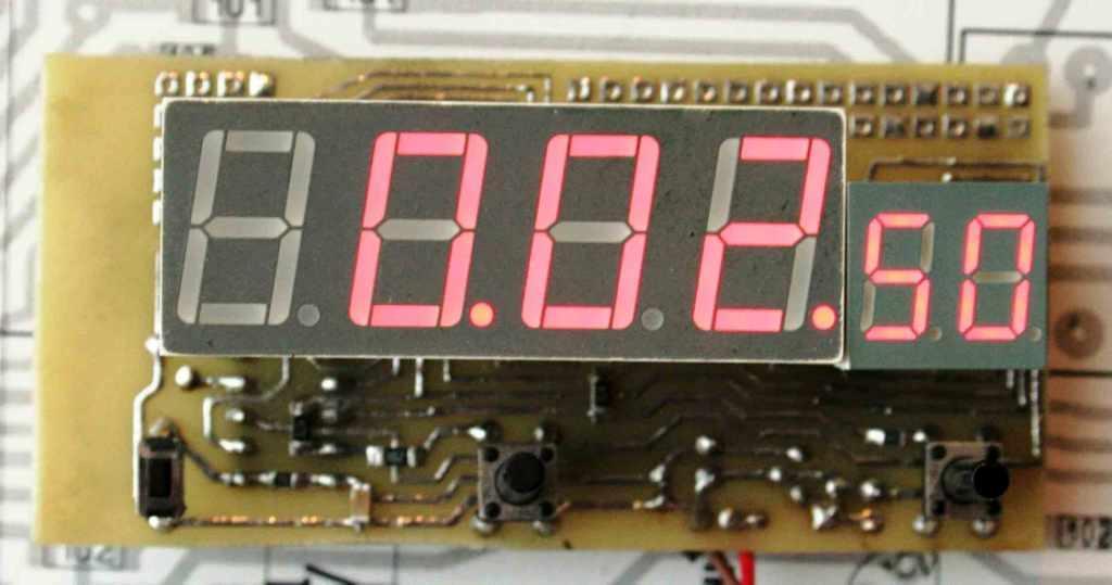 Электронные часы на pic своими руками 75