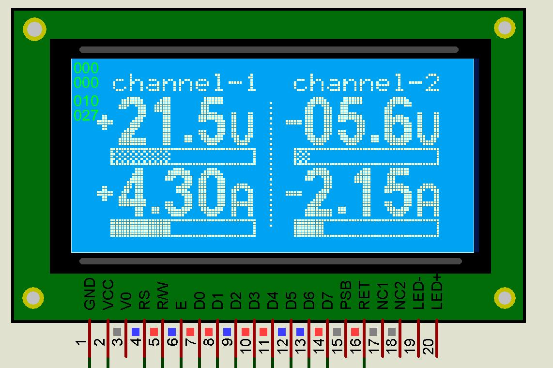схема на микроконтроллере амперметр