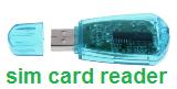 USB 2,0 считыватель sim-карт совместимый для GSM + CDMA