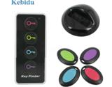 Kebidu 4 в 1 Расширенный беспроводный искатель ключей удаленный локатор для ключей телефон кошельки анти-потеря