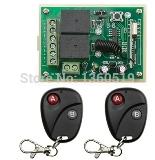 DC12V 2CH RF Wireless Remote Control System