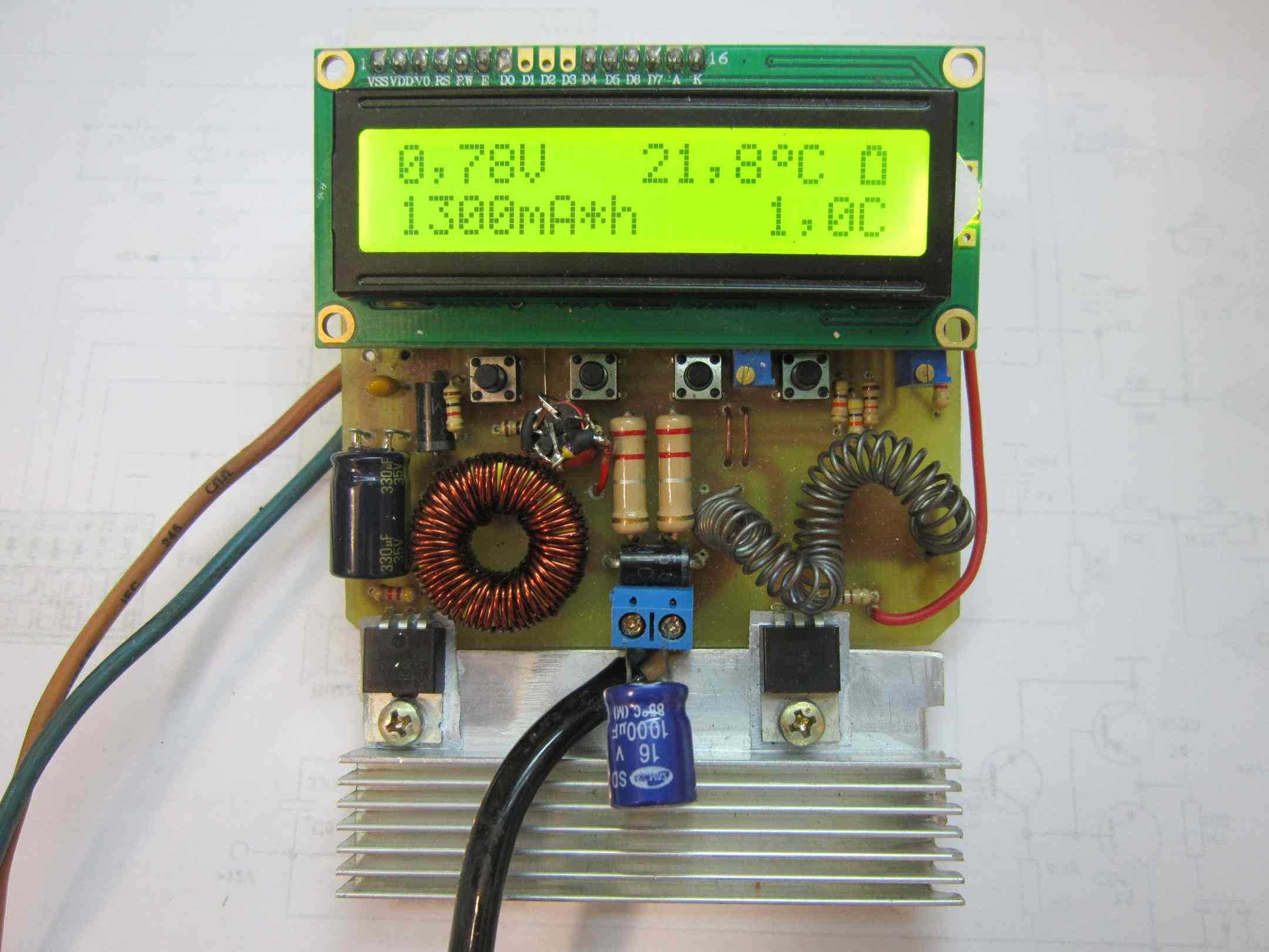 li-ion аккумулятор 3.7v зарядка схема