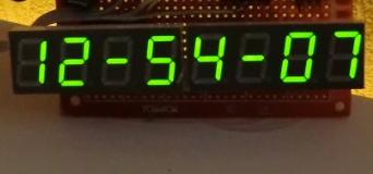 Электронные часы на pic своими руками 71