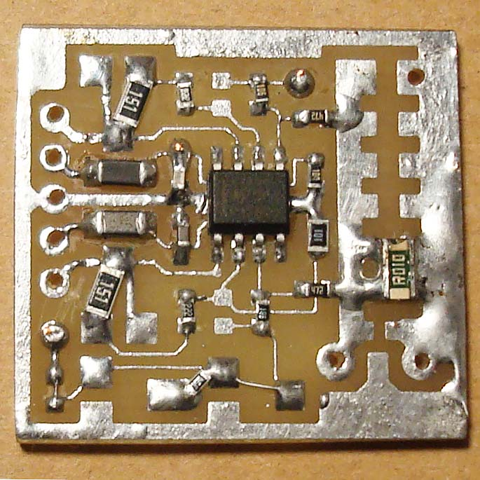 current amplifier LM358 foto