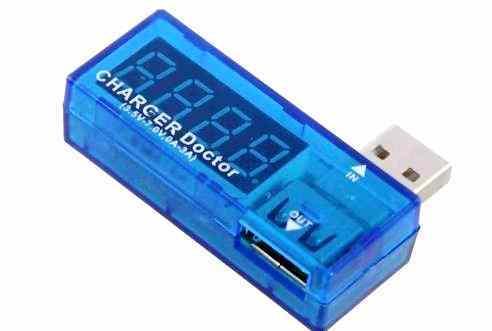 Digital USB  Tester  charger doctor voltmeter ammeter