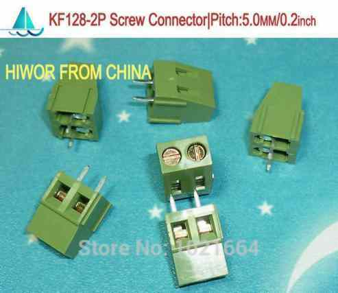 KF301-5.0-2P  2Pin 5.0mm  Pin PCB  Connector
