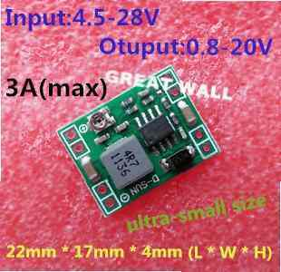 DC-DC step-down power supply module 3A