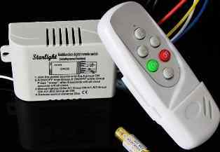 3 Channel Remote Control Switch  for led light